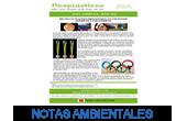 NOTAS AMBIENTALES